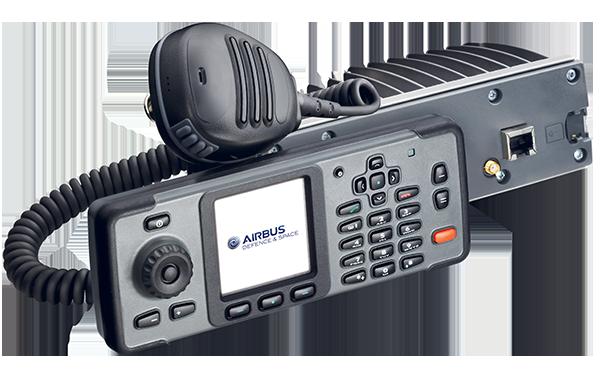 TMR880i TETRA Mobile Radio
