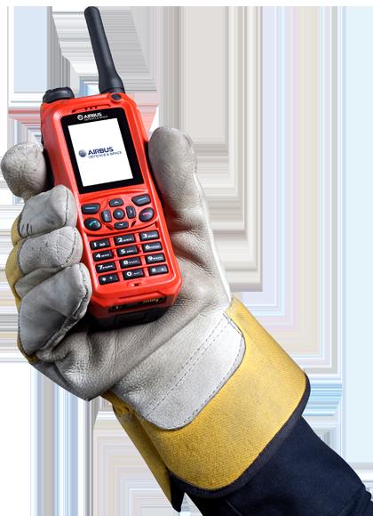THR9ex Terminal portatif Tetra